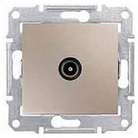Механизм розетки TV конечной титан Schneider Electric Sedna