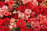"""Бесшовные фотообои """"Весенние цветы"""" 435х300 см"""