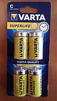 Батарейки Varta R14 Superlife