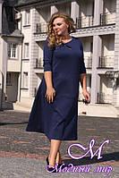 Женское платье миди больших размеров (48-90) арт. Турция платье