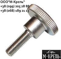Винт М3 нержавеющий DIN 464 с накатанной головкой (А2/А4)
