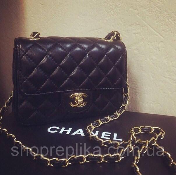 Сумка Шанель ,chanеel мини стеганная черная Люкс Копия  продажа ... 78319dd8840