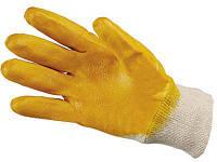 Перчатки малярные нитрильные желтые