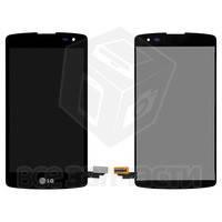 Дисплей для мобильных телефонов LG D290 L Fino, D295 L Fino Dual, черный, original (PRC), с сенсорным экраном