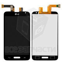 Дисплей для LG D320 Optimus L70/D321/MS323 + touchscreen, чёрный