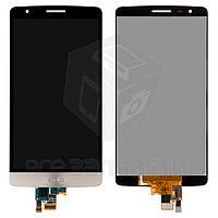 Дисплей для LG D724 G3s Dual + touchscreen, золотистый, оригинал (Китай)