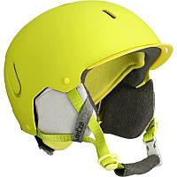 Шлем лыжный сноубордический унисекс WED'ZE FEEL 400 желтый