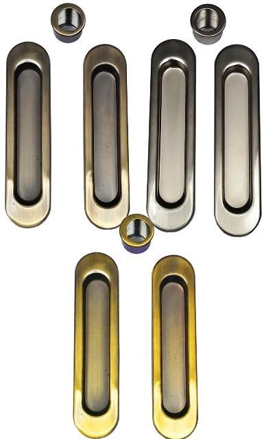 Ручка купе для раздвижных дверей TM Kedr AB (бронза)