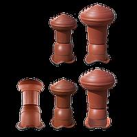 Вентиляционный выход VIRTUM для металлочерепицы (диаметр - 125 мм)
