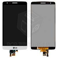 \Дисплей для LG D724 G3s Dual + touchscreen, белый