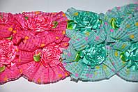 Детские Резиночки для волос- хризантема (20 шт)