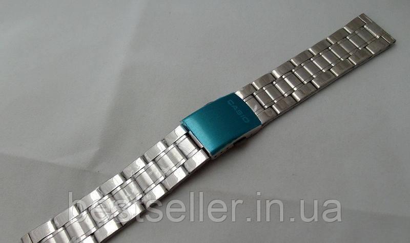 Часы касио серебряные браслеты