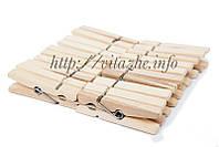 Деревянная бельевая прищепка (20 шт)