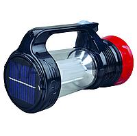 Фонарь-лампа аккумуляторная+солнечная батарея 1+24LED  YJ-5856T