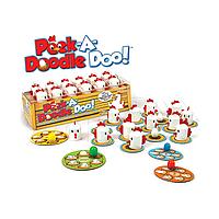 Настольная игра Fat Brain Toys - Peek-A-Doodle Doo (КУ-КА-РЕ-КУ), фото 1