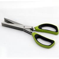 Ножницы для нарезки зелени с 10 лезвиями 20 см, фото 1