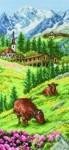 """Набор для вышивания """"Альпийский пейзаж (Swiss Alpine landscape)"""" ANCHOR"""