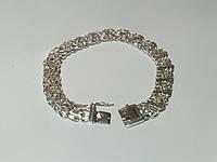Серебряный браслет мужской, фото 1