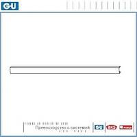 Накладка на тягу длина 1850 мм для Ventus F200 серебро