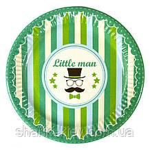 Тарелки Little MAN 10 шт. бумажные на День рождения