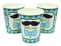 Стаканчики Little MAN 10 шт. бумажные на День рождения