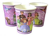 Набор стаканчиков Принцесса София 10 шт. бумажные на День рождения