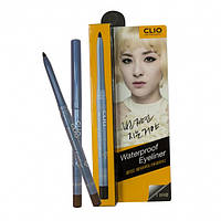 Водостойкий карандаш-лайнер для глаз и бровей CLIO коричневый
