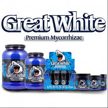 GREAT WHITE PREMIUM MICORRHIZAE МИКОРИЗА 4 УН./ 114 ГР