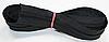 Молния рулонная метражная (лента витая, тип Т7) цвет черный
