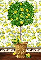 Схема для вышивания бисером Дерево процветания  AX2-020