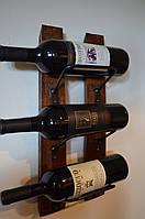 Подставка  для вина настенная - 204
