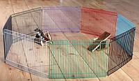 """Вольер Trixie 6247 """"Joy"""" для хомяка цветной ( 8 секций 34 см/23 см)"""