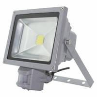 Прожектор LED 50w 6500K LEMANSO с датчиком / LMPS50