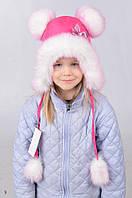 Зимняя шапка  для  девочки 3125