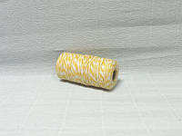 Шнур хлопковый, Бело-желтый, 0,2см