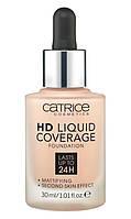 Catrice тональна основа hd liquid coverage foundation, фото 1