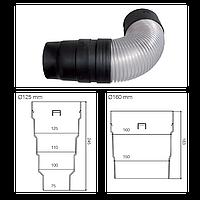 Редукция или соединение VIRTUM 125 мм