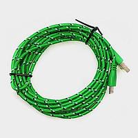 Тканевый кабель шнур Micro USB - USB 2 метра S199