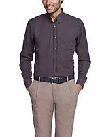 Мужская рубашка LC Waikiki темно-серого цвета