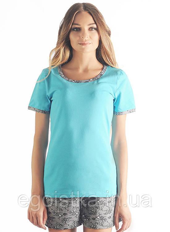 Пижама женская шорты, футболка - Интернет-магазин купальнков, белья, одежды - Эгоистка в Луцке