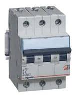Автоматический выключатель 3р 6А Legrand TX3, фото 1