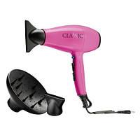 GA.MA Фен CLASSIC розовый, 2-х скоростн., 2200W CLASSIC.FU
