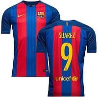 Футбольная форма Барселона Суарез (Suarez) 2016-2017 домашняя