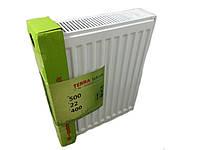 Стальной радиатор terra teknik 500x600 боковое подключение (22 тип) 1158 ват.