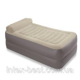Intex 67776 - надувная кровать  99x191x33см, фото 2