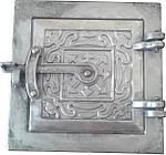 Дверка прочистная алюминиевая (сажечистка) на защелке (155 х 155 мм.)