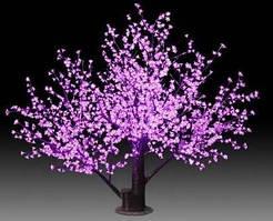 Светодиодное дерево 4200 диодов LED красный (внутр.использ)