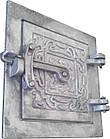 Дверка прочистная алюминиевая (сажечистка) на защелке (155 х 155 мм.), фото 2