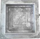 Дверка прочистная алюминиевая (сажечистка) на защелке (155 х 155 мм.), фото 5