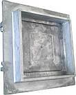 Дверка прочистная алюминиевая (сажечистка) на защелке (155 х 155 мм.), фото 6